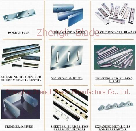 Metallurgical Roller,  Steel Bar Cutter, Provide Grenoble Cutting Knife Plate, Wholesale Grenoble Flying Shear Edge Knife